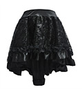 Luxury Steampunk Skirt Black
