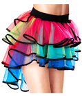 Colorful Layered Tutu Skirt
