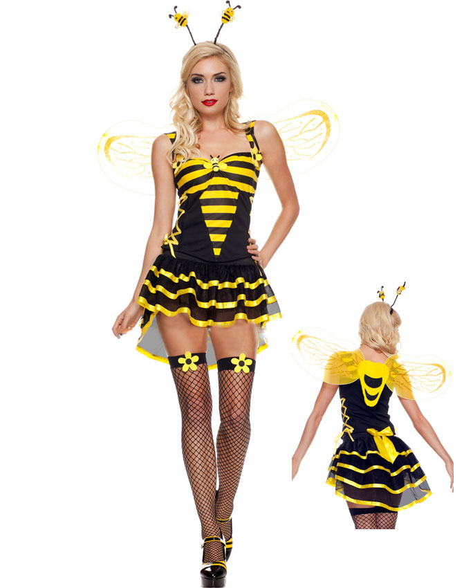 Burlesque Bee Costume