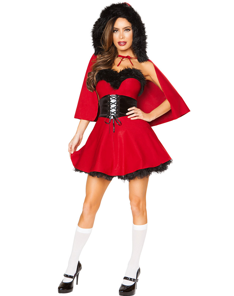Little Red Damsel Costume