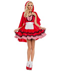 Red Hooded Babe Costume