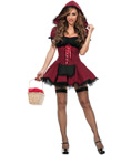 Sassy Riding Hood Costume