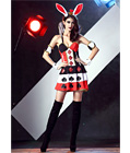 Poker Face Bunny Costume