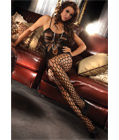 Integrated Fishnet Bodystocking