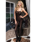 Strap Opaque Bodystocking