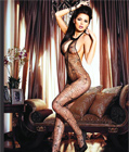 Spider Web Bodystocking