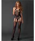 Jacquard Lace Bodystocking