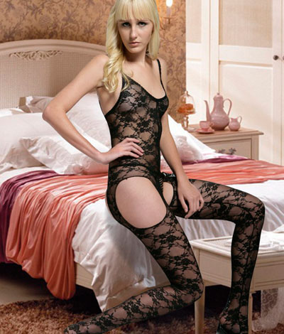 Butterfly Lace Bodystocking
