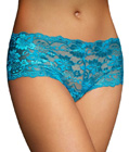 Criss Lace Panty Blue