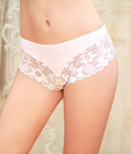 Rose Lace Panty White