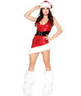 Christmas Vixen With Legwarmer