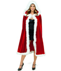 Long Christmas Cape