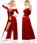 Sexy Miss Claus Robe Set
