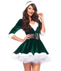Mrs. Claus Fancy Costume Green