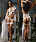 Coup De Foudre Dress White