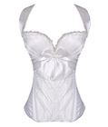 Delectable Sweetheart Overbust Corset White/Ivory