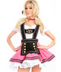 Pink Fantasy German Girl Dress