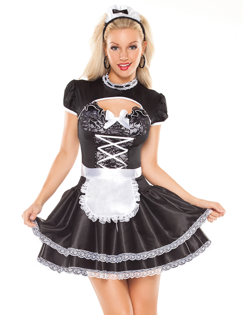 Flirty French Maid - Wholesale Lingerie,Sexy Lingerie ...