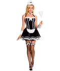 Flirty Servant Maid Costume