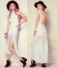 Lace Fashion Maxi Dress