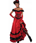 Western Saloon Girl Dress