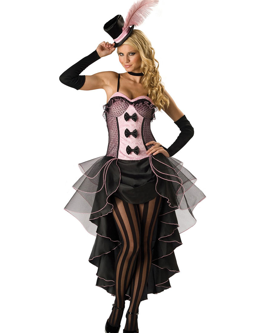 Burlesque Babe Adult Costume Pink