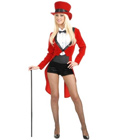 Sexy Circus Lady Ring Master Costume