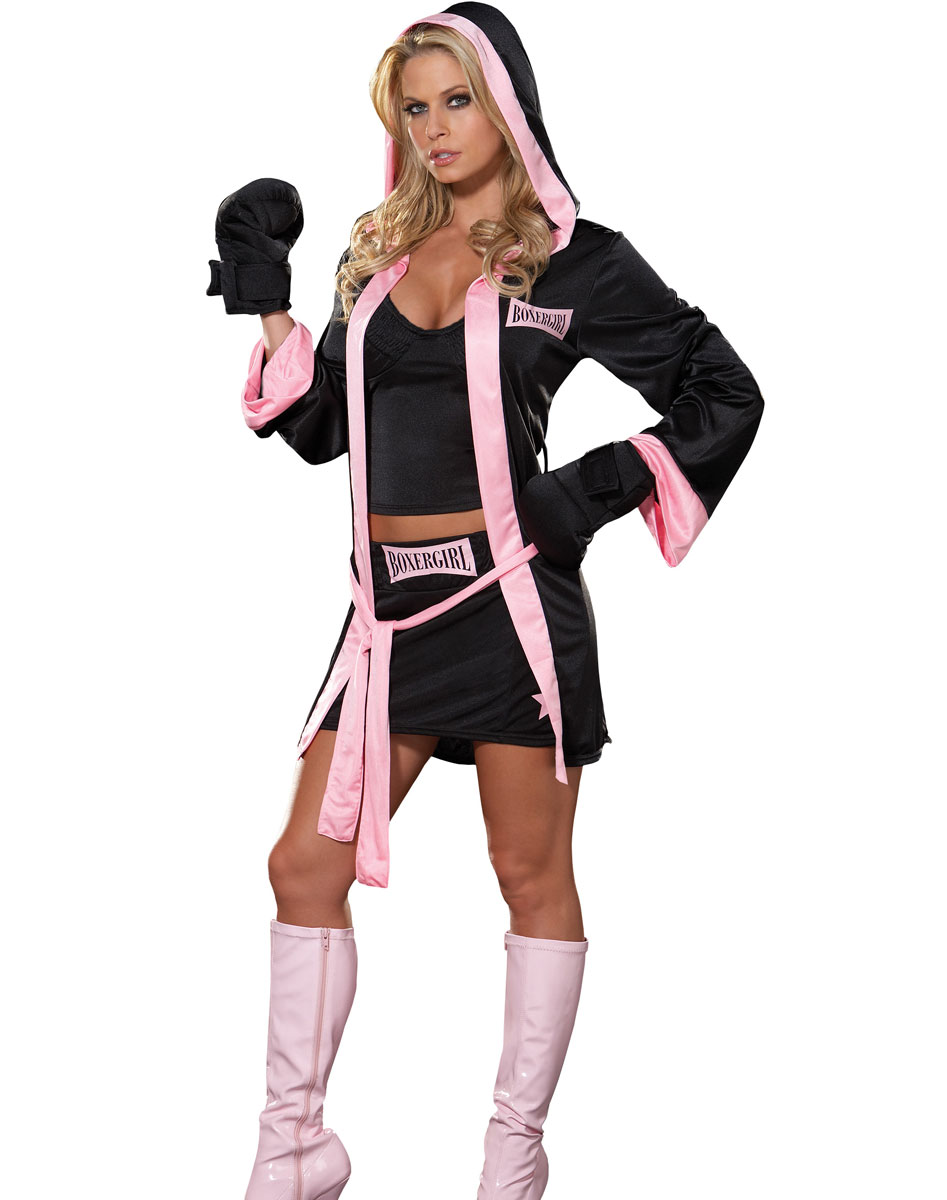 Female Boxer Costume