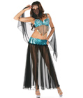 Arabian Sequined Dancer Costume Black