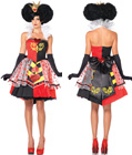 Disney Alice Queen Of Hearts Costume