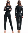Deluxe Black Super Hero Costume