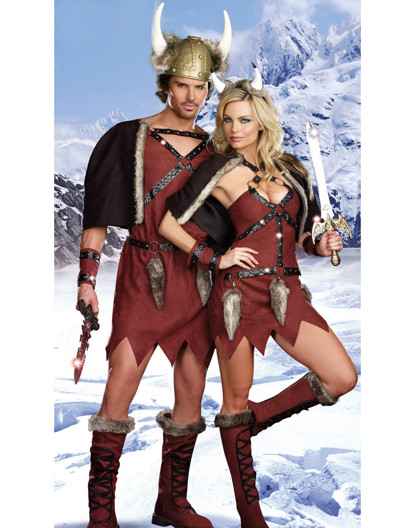 Viking Warrior Costume Men