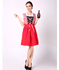 Plaid Classic Beer Girl Costume