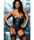 Leather Cupless Corset