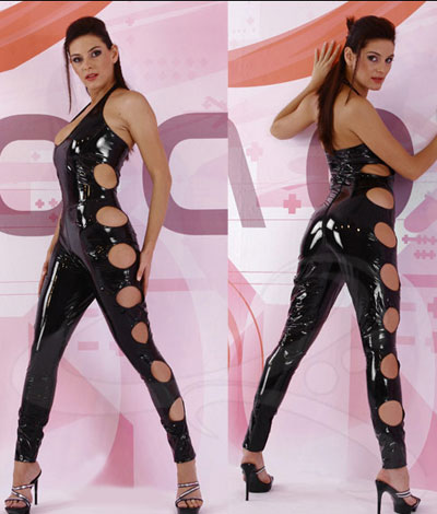 Beauty Cut Out Side Catsuit