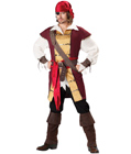 Deluxe Swashbuckler Pirate Costume