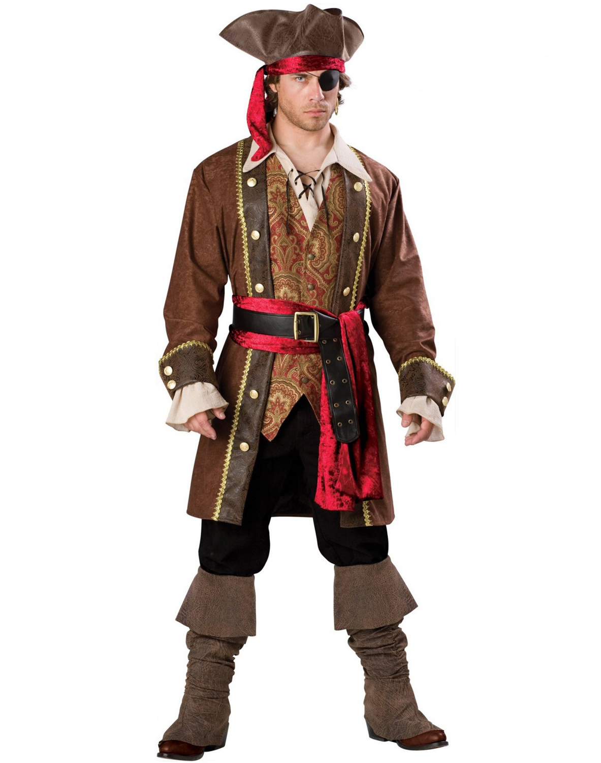 Captain Skullduggery Elite Costume