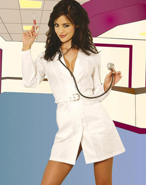 Plastic Surgeon Outfit With Stethoscope