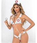 Strappy Nurse Lingerie Costume