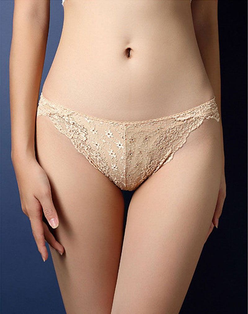 Classic Lace Panty Nude