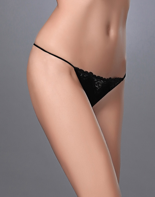 Lace Trimmed G-String & Panty
