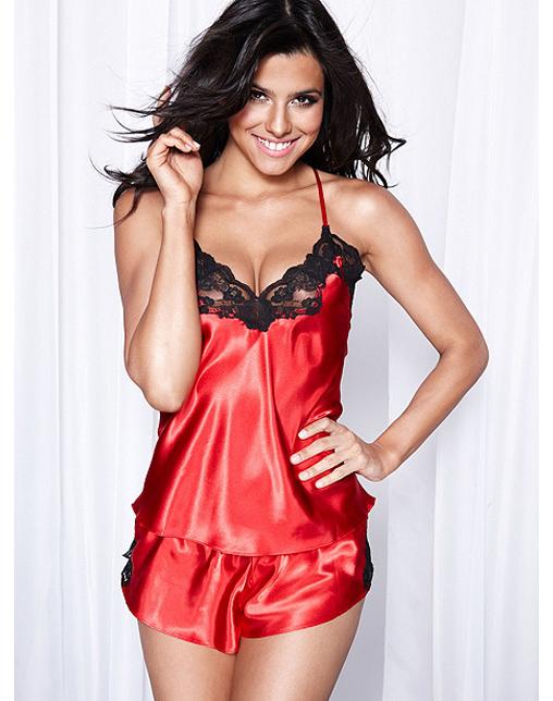 Cami Amp Tap Pant Set Red Wholesale Lingerie Sexy Lingerie