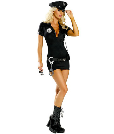 Naughty Officer Costume