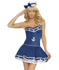 Blue Sailor Girl Costume