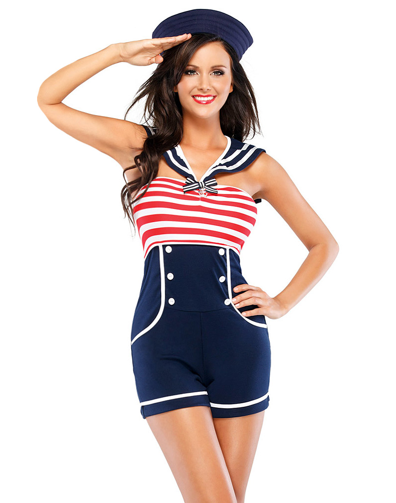 Pin Up Sailor Costume