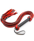 Braided PU Leather Whip
