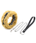 Fluffy Collar and Leash Set