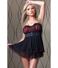 Romantic Baby Doll Set Red