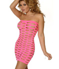Sexy Queen Tube Dress Pink