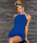 Glamorous Mini Dress Blue